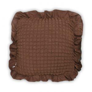 купить Декоративная подушка Love You какао