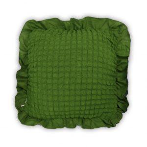 купить Декоративная подушка Love You олива