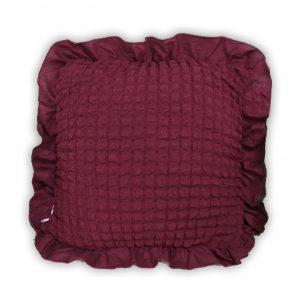 купить Декоративная подушка Love You пурпурный