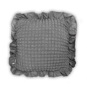 купить Декоративная подушка Love You серый