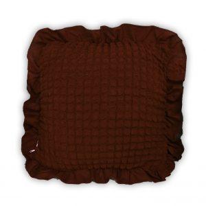 купить Декоративная подушка Love You черный шоколад