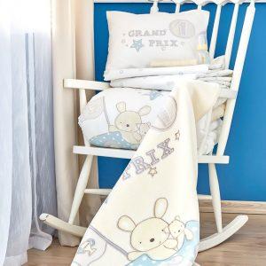 Детский плед в кроватку Karaca Home – Champion 2018-1 100×120