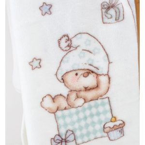 Детский плед в кроватку Karaca Home – Funny Bears 2017-1 100×120