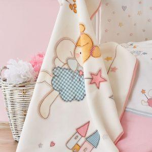 Детский плед в кроватку Karaca Home – Peri 2018-1 100×120