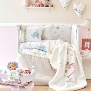 Детский плед в кроватку Karaca Home – Playmate 2018-1 100×120