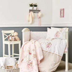 Детский плед в кроватку Karaca Home – Pretty 2018-1 100×120