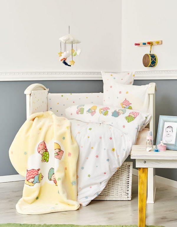 купить Детский плед в кроватку Karaca Home - Sleepers 2018-1 100x120