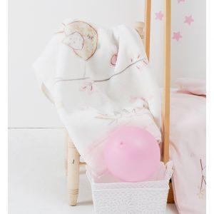 Детский плед в кроватку Karaca Home – Sweet Bird 2017-1 100×120