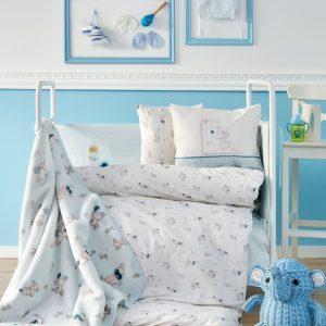 Детский плед в кроватку Karaca Home – Woof 2018-1 100×120