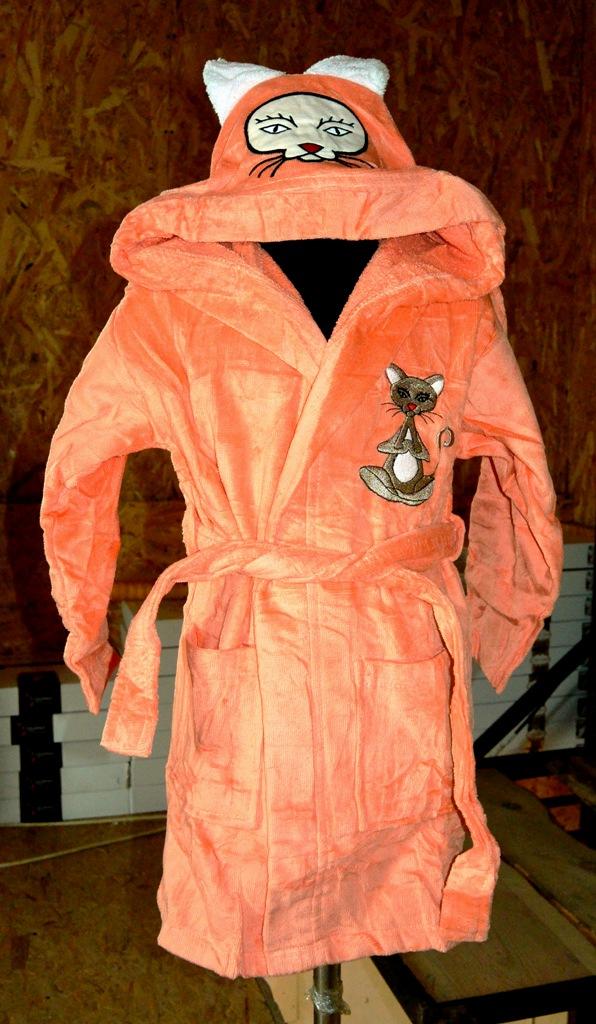 купить Детский халат Nusa персиковый m011074