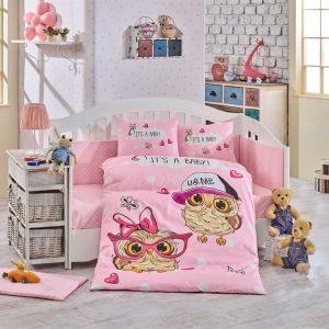 купить Детское Постельное Белье Hobby Cool Baby Розовый 100x150