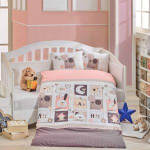 купить Детское Постельное Белье Hobby Sweet Home Розовый 100x150