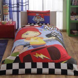 купить Детское подростковое постельное белье ТМ TAC Disney Ayas Race 160x220