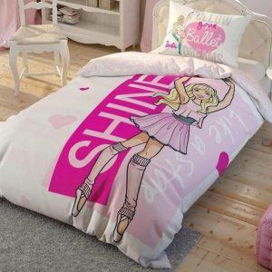 купить Детское подростковое постельное белье ТМ TAC Disney Barbie Ballet 160x220