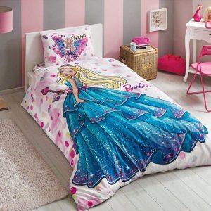Детское подростковое постельное белье ТМ TAC Disney Barbie Dream 160×220