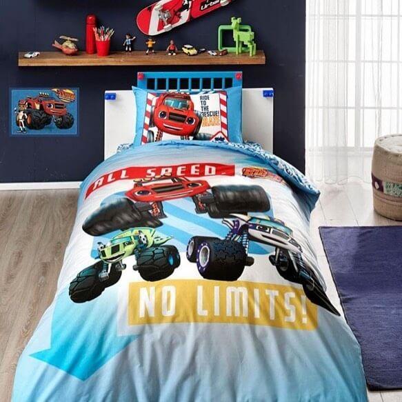купить Детское подростковое постельное белье ТМ TAC Disney Blaze 160x220