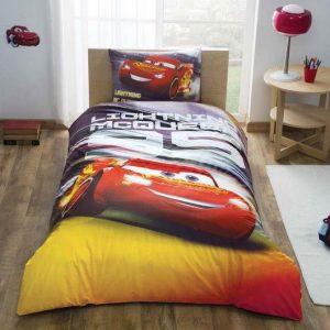 купить Детское подростковое постельное белье ТМ TAC Disney Cars Lightning Mcqueen 160x220