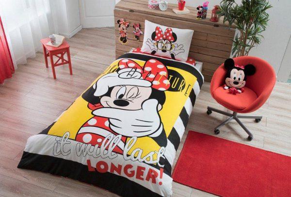 купить Детское подростковое постельное белье ТМ TAC Disney Minnie Selfie 160x220