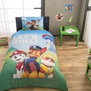 Детское подростковое постельное белье ТМ TAC Disney Paw Patrol (Щенячий Патруль) 160×220