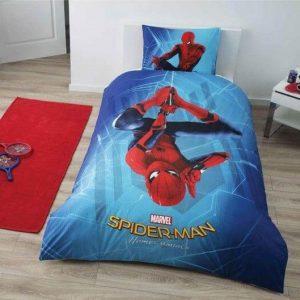 Детское подростковое постельное белье ТМ TAC Disney Spiderman Homecoming 160×220