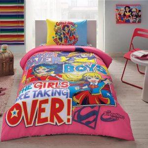 купить Детское подростковое постельное белье ТМ TAC Disney Super Hero Girls 160x220