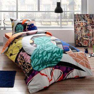 купить Детское подростковое постельное белье ТМ TAC Teen Graffiti Easy 160x220