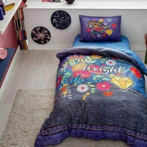 купить Детское подростковое постельное белье ТМ TAC Teen Shine 160x220