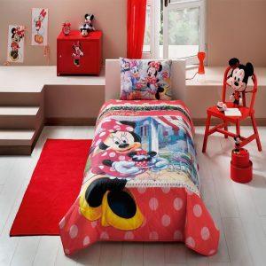 купить Детское покрывало ТМ TAC Disney Minnie Tea Time 160x220