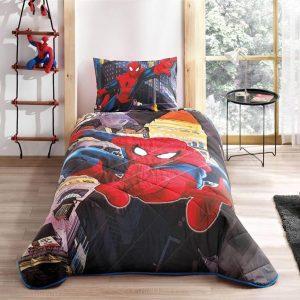 купить Детское покрывало ТМ TAC Disney Spiderman In City 160x220