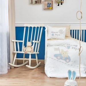Детское постельное белье в кроватку для младенцев Karaca Home – Champion 2019-2 (10 предметов) 100×150