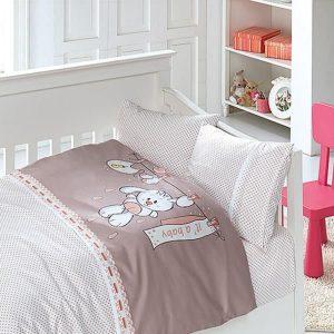 купить Детское постельное белье в кроватку First Сhoice Baby Pudra 100x150