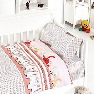 купить Детское постельное белье в кроватку First Сhoice Ginny Pudra 100x150