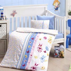 купить Детское постельное белье в кроватку First Сhoice Sweet Toys Mavi 100x150