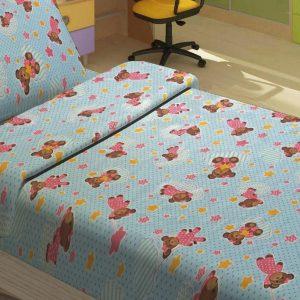 Детское постельное белье для младенцев Lotus – BoBi голубой 100×150
