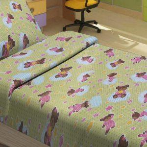 Детское постельное белье для младенцев Lotus – BoBi зеленый 100×150
