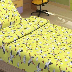 Детское постельное белье для младенцев Lotus – PeTi желтый 100×150