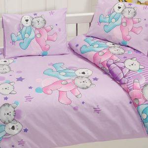 купить Детское постельное белье Class Dus v1 Pembe 100x150