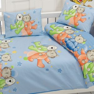 купить Детское постельное белье Class Dus v2 Mavi 100x150