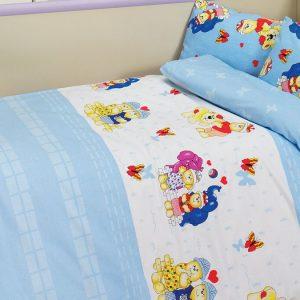 купить Детское постельное белье Class Happy v1 Mavi 100x150