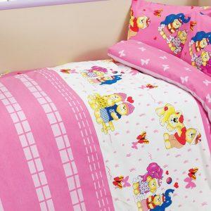 купить Детское постельное белье Class Happy v2 Pembe 100х150