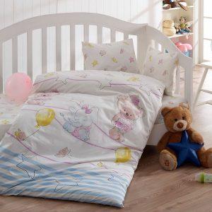 купить Детское постельное белье Class Olivia v2 Mavi 100х150