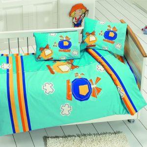 купить Детское постельное белье Class Sky v2 Turkuaz 100x150