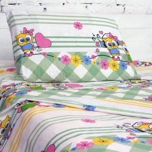 купить Детское постельное белье Marcel 501 Ранфорс 110x140