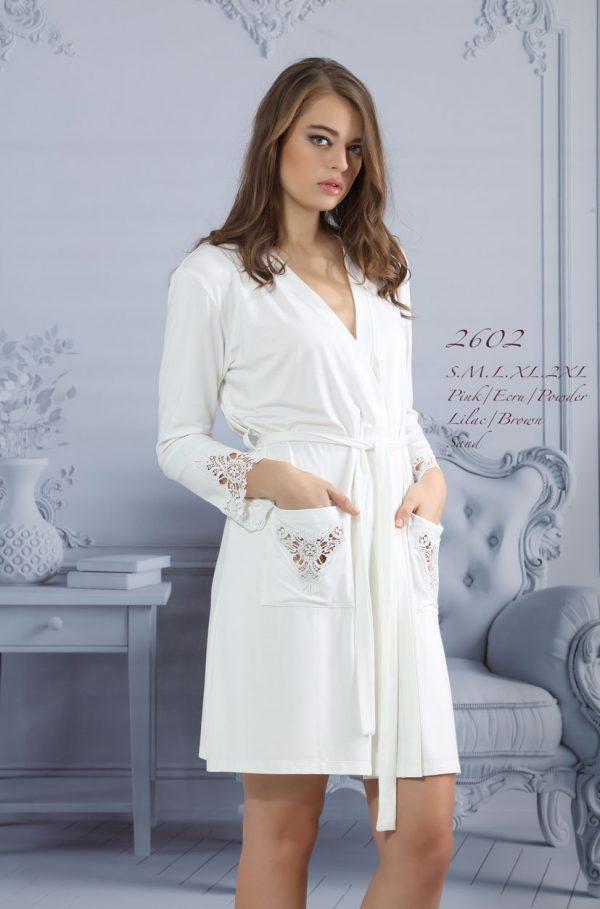 купить Женский халат Mariposa 2602 ekru m013038
