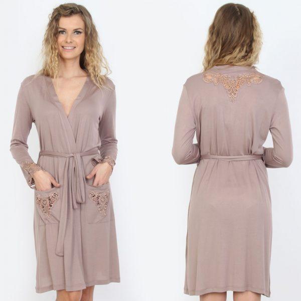 купить Женский халат Mariposa 2602 lila m013039