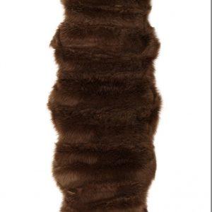 Коврик Меховой Alaska Post Kahve 60×180