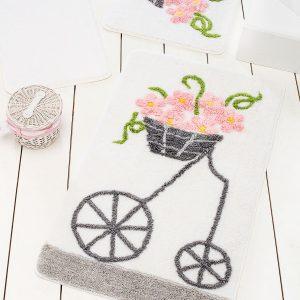купить Коврик в ванную Chilai Home Alacati Pink 60x100