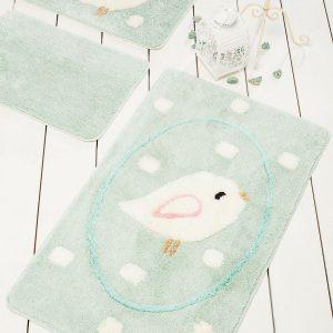 купить Коврик в ванную Chilai Home Birdie Mint 60x100