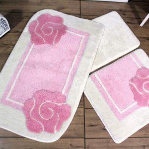 купить Коврик в ванную Chilai Home Dolce Pink 60x100