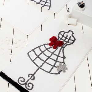 купить Коврик в ванную Chilai Home Elbise White 60x100